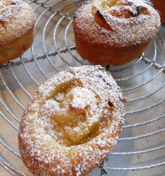 The English Kitchen: Lemon Friands these are made with egg whites a good way to use up those whites you get left with sometimes