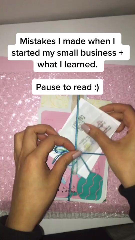 Pin By Sarah On Tiktok Packaging Ideas Business Small Business Inspiration Small Business Marketing