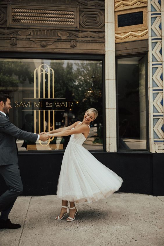 Lynette Gown from BHLDN - Photographer: @christyljohnston | Bride: @torimasters | Groom: @thegoodandthechad
