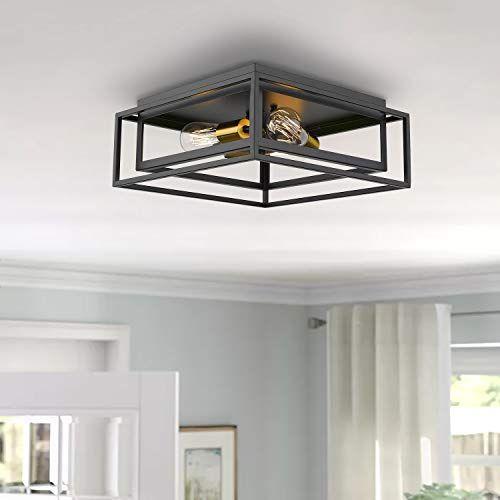 15 Best Farmhouse Flush Mount Ceiling Light Fixtures For Kitchen