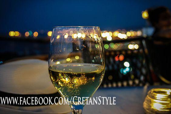 Drinks on the Fortessa, at Thalassografia..