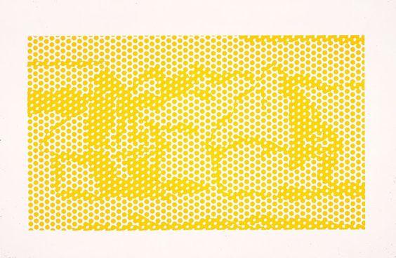 Roy Lichtenstein - Haystack #1 (1969)
