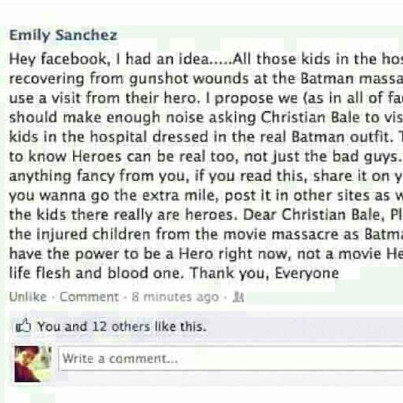 For all those little kids who need their hero right now! Please pass on
