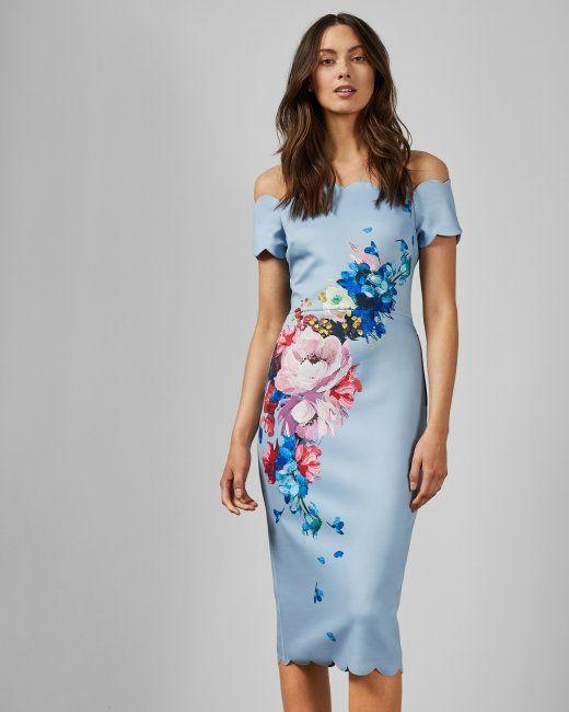 96b4e009585f928a4ee782204079b1de - Ted Baker Arienne Hanging Gardens Dress