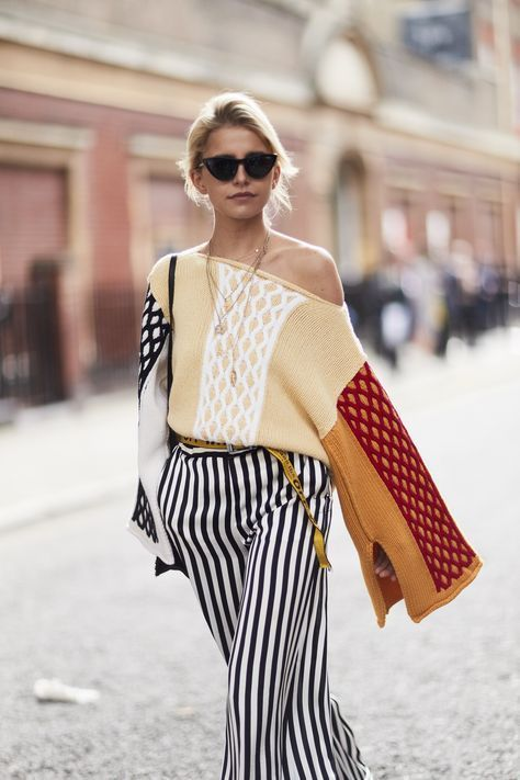 The Best Street Style At London Fashion Week Spring Summer 2018 #streetstylefashion,