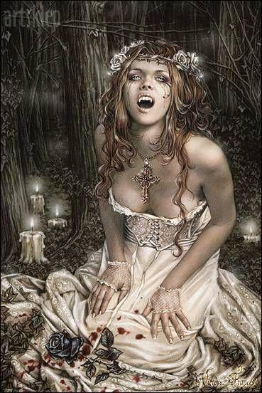 vampiros - Vampiros en el Arte fantastico. 96b534f24b68594f39b9926149ab94b8