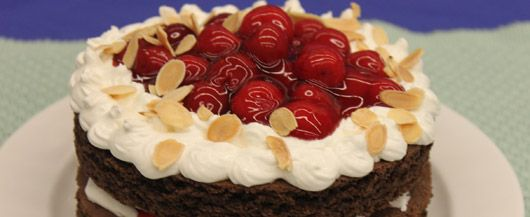 Black forest torte and forests on pinterest for Black forest torte recipe