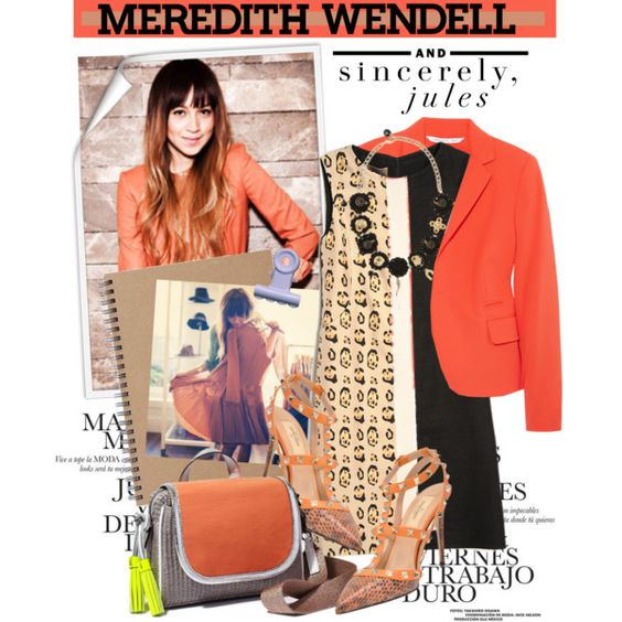 """""""Spring's It Bag With Sincerely Jules x Meredith Wendell"""" by houseofhauteness on Polyvore"""
