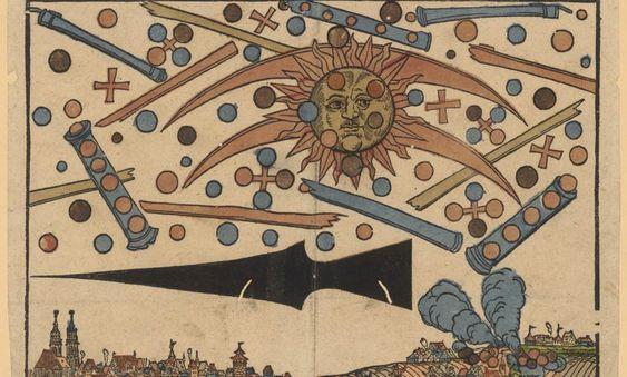 10 dingen die u moet weten over de massale UFO-waarneming van 1561 boven de stad Neurenberg