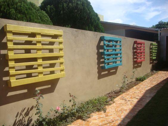 muro de pallets pesquisa google mobiliário externo pallets pesquisa ...