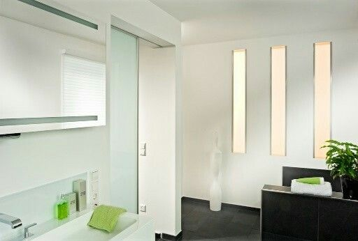 Pin by gerlinde hafner on Bad Pinterest - schiebetüren für badezimmer