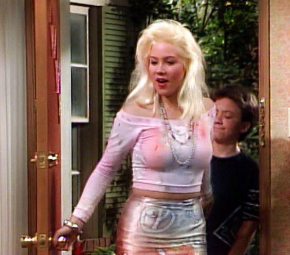 Christine applegate upskirt nipples