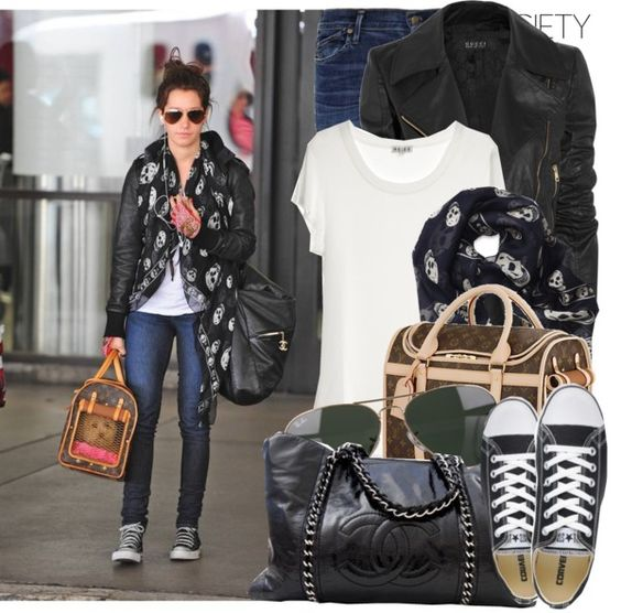 """Celebrity Style: Ashley Tisdale"" by majksister on Polyvore"