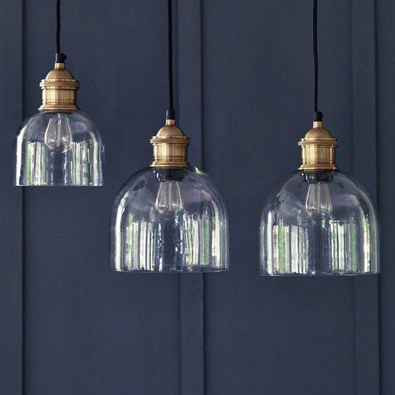 flori glass pendant by rowen & wren | notonthehighstreet.com