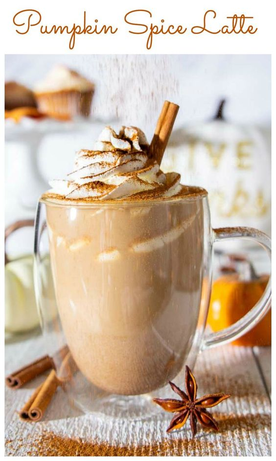 Pumpkin Spice Latte - Dessert