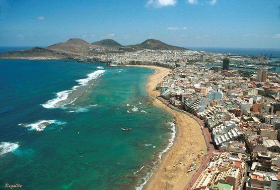 Playa de Las Canteras - City Las Palmas de Gran Canaria: