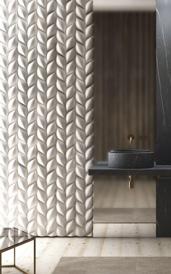 3D Wall Panel TRECCIA - @3dsurface