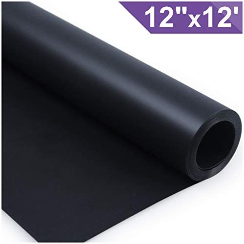 Arhiky Heat Transfer Vinyl Htv For T Shirts 12 Inches By 12 Feet Rolls Black Heat Transfer Vinyl Heat Transfer Diy Vinyl