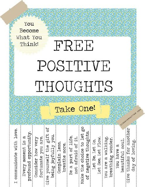free...take one please...
