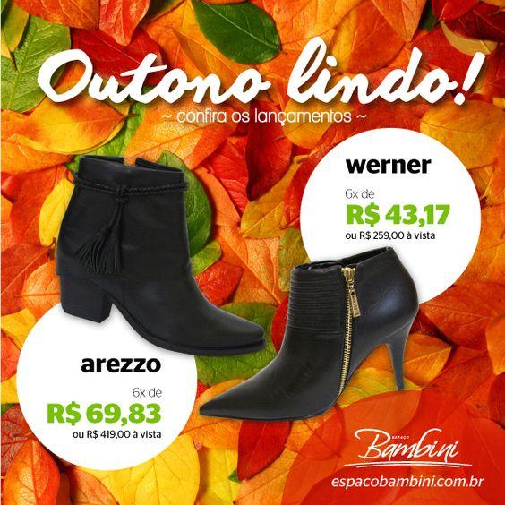 Seu outono fica lindo e super estiloso com as novidades da Espaço Bambini. Todo dia tem novos modelos das melhores marcas. Acesse: www.espacobambini.com.br