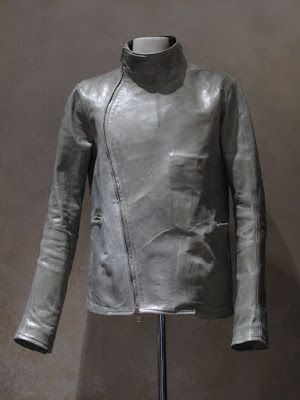 Carol Christian Powell FW15-16 Fencing  Leather Jacket