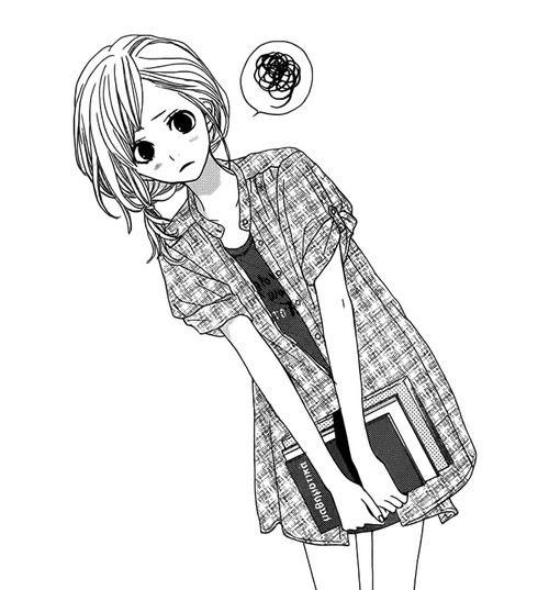 Resultado de imagen para anime girl confused
