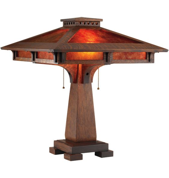 South Haven Table Lamp by Rejuvenation.: Craftsman Houses, Arts Crafts, Art And Crafts, Crafts Art Deco, Arts And Crafts, Arts & Crafts