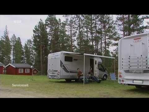"""""""Mittelschweden mit dem Wohnmobil"""" WDR Servicezeit: Mobil - YouTube"""