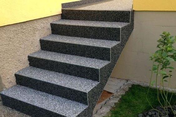 Pierre Pour Escalier Carrelage Pour Escalier Exterieur Resine Escalier Beton Escalier Exterieur Escalier Carrelage Revetement Escalier