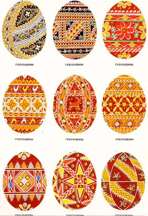 Ukrainian pysanky   Ukrainian recipes