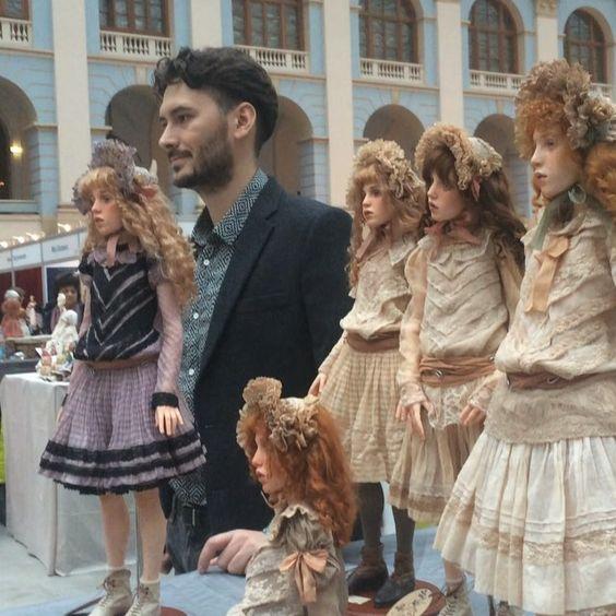 """""""Искусство куклы 2015"""" Doll show """"Art of the DOLL"""". #искусствокуклы2015 #МихаилЗайков #Москва #dollexhibition #Moscow #MichaelZajkov"""