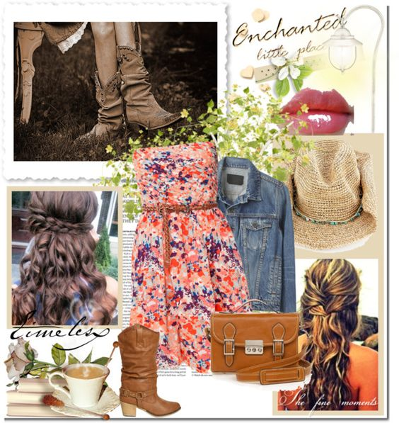 """Calgary Stampede"" by kimrodgers on Polyvore"