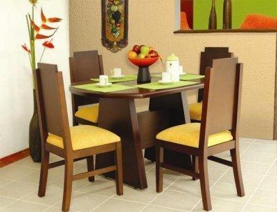 Comedores modernos de madera puedo utilizar mobiliarios for Comedores modernos con banca