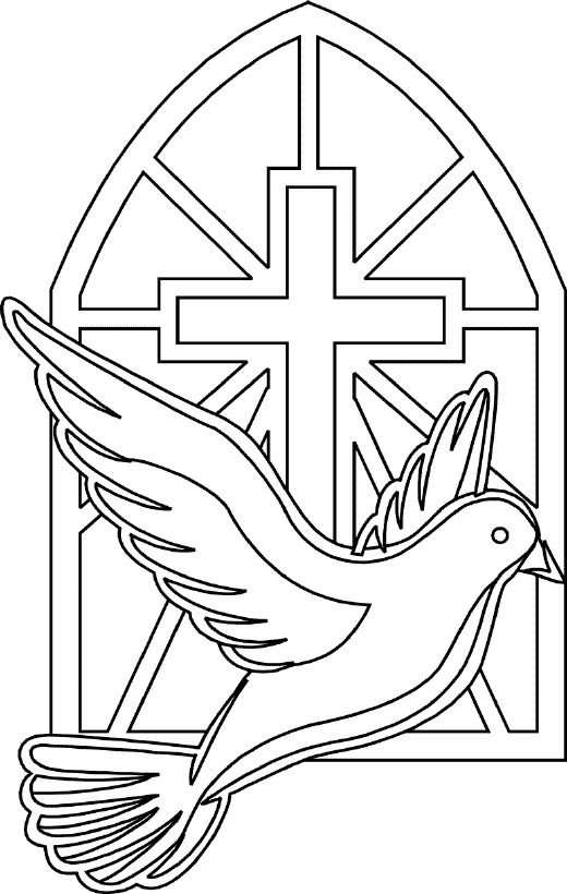 Holy Spirit Coloring Pages CatholicMom