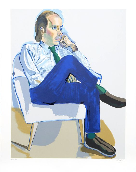 Portrait of Hartley Stockton Neel | From a unique collection of figurative prints at https://www.1stdibs.com/art/prints-works-on-paper/figurative-prints-works-on-paper/