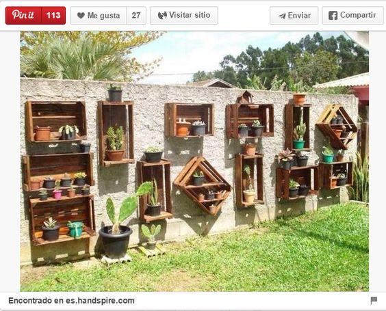 trucos de bricolaje ideas para decorar espacios exteriores con palets