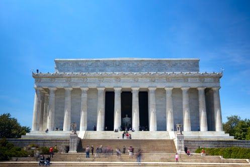 lincoln memorial building clipart. the lincoln memorial is made up of three basic types rock base and steps are igneous granite interior columns walls sedimeu2026 building clipart t
