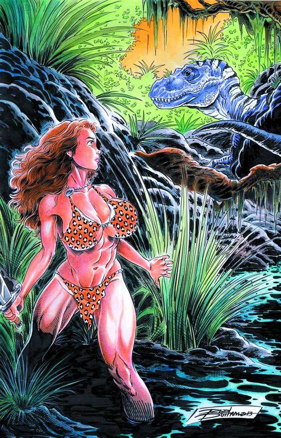 Cavewoman: Primal #Amryl #CavewomanPrimal (Cover Artist: Rob Durham) On Sale: 10/2/2013