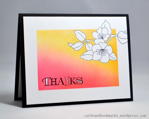 Clean and simple using distress inks
