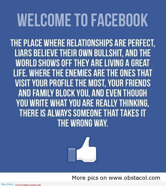 sooooo trueeee!! I am done with Facebook!! Bye Bye stalkers & pointless drama: