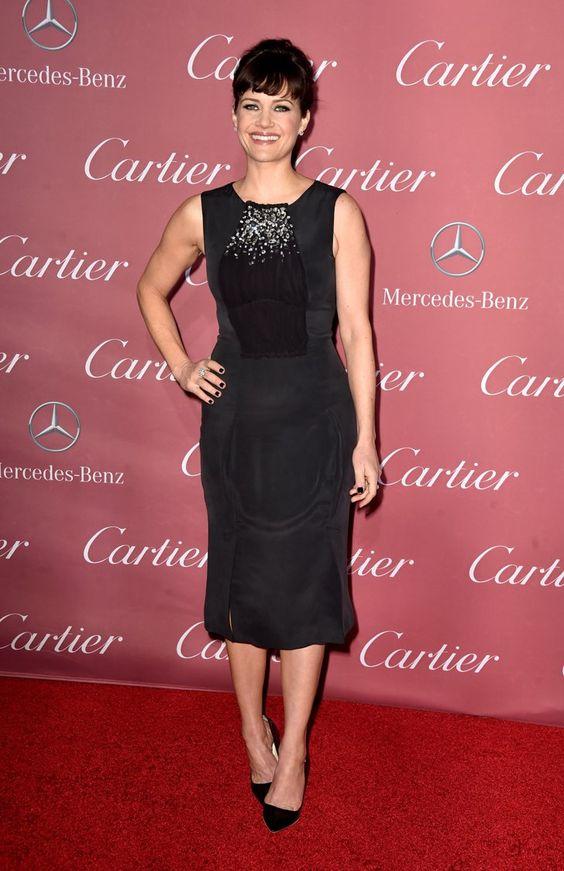 Pin for Later: Toutes les Stars du Moment Étaient Présentes Lors du Festival du Film de Palm Springs Carla Gugino