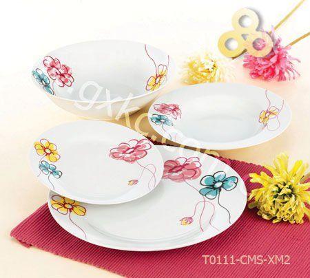 Image detail for -Flower pattern porcelain dinnerware sets, View Flower dinnerware sets ...