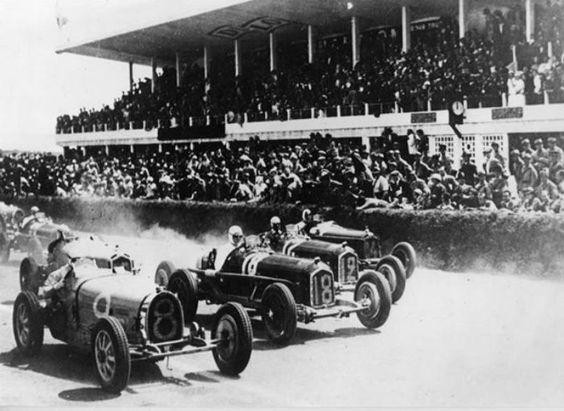 Bugatti Type 54 Grand Prix 1932 (54210) 8266-NV1 (F), #8 Gran Premio di Monza September 1932, Achille Varzi