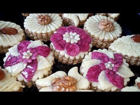 حلويات جزائرية للعيد و المناسبات مشكلة بالكاوكاو خطوة خطوة بنيييييينة و ناجحة من مطبخ أم أسيل Youtube Breakfast Enjoyment Muffin