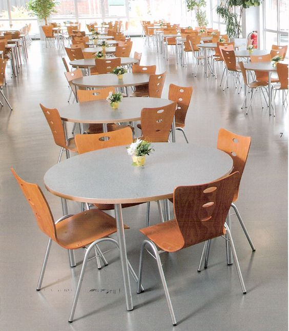 Good Canteen Furniture Cafeteria Chairs Lunchroom Tables Factory Canteen  Equipment Canteen Tables Canteen Chairs Cheap Blue Red White Yellow Green  Blacku2026