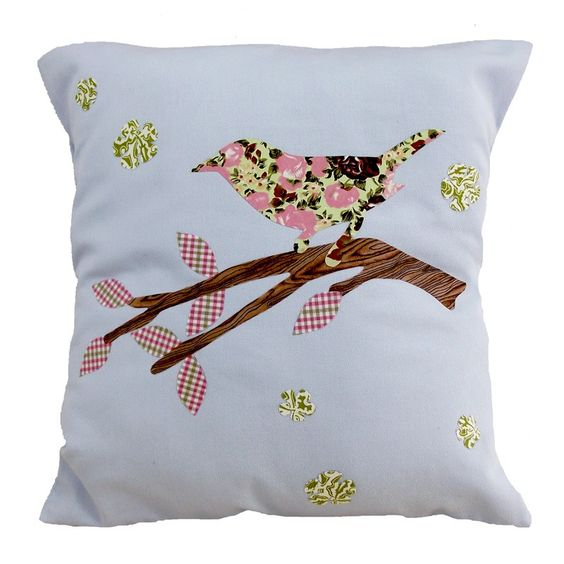 Tweet it! um passarinho florido, já viu? #casa #decor