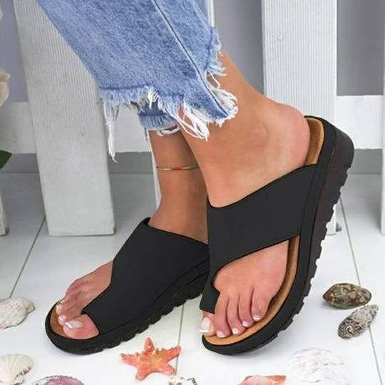Correct Toe Comfy Sandals – Gadget