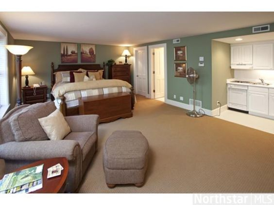 Mother In Law Suite Complete With Kitchenette And Bathroom Exceptional Living Spaces