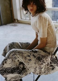 """opaqueglitter:  magda laguinge for out of order winter 2013-2014, photographed by paul maffi """"house of glass"""""""