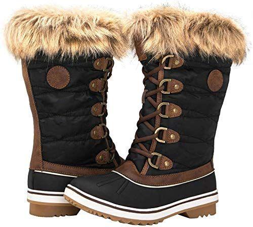 Winter snow boots, Snow boots women